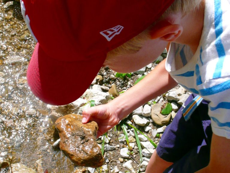 Drei Tage Wildnis - Flussforschung