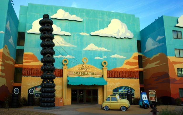 Disneyworld Cars Hotel