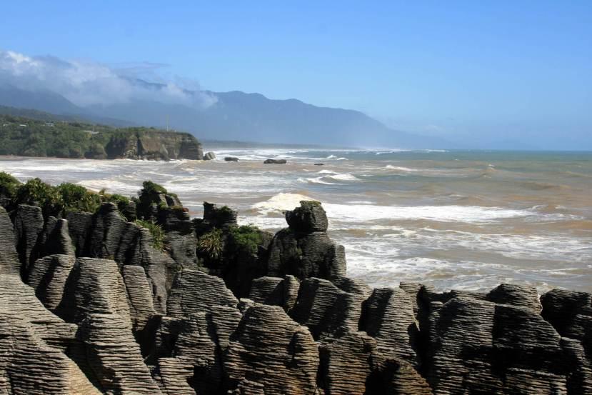Bizarre Felsen: Die Pancake Rocks beiPunakaiki