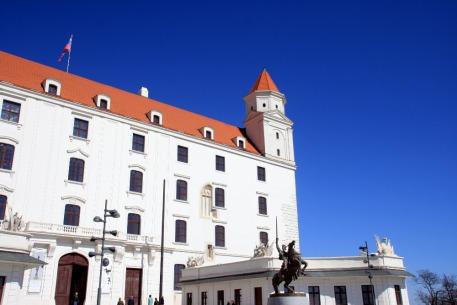 Die Burg in Bratislava, Slowakei, Slovakia