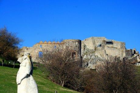 Burg Devin bei Bratislava, Slowakei, Slovakia