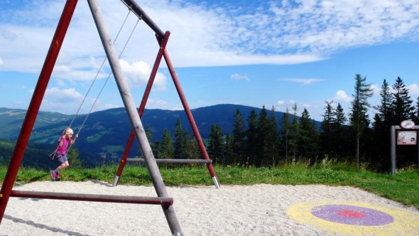 Mönichkirchen: Schaukelweg auf derAlm